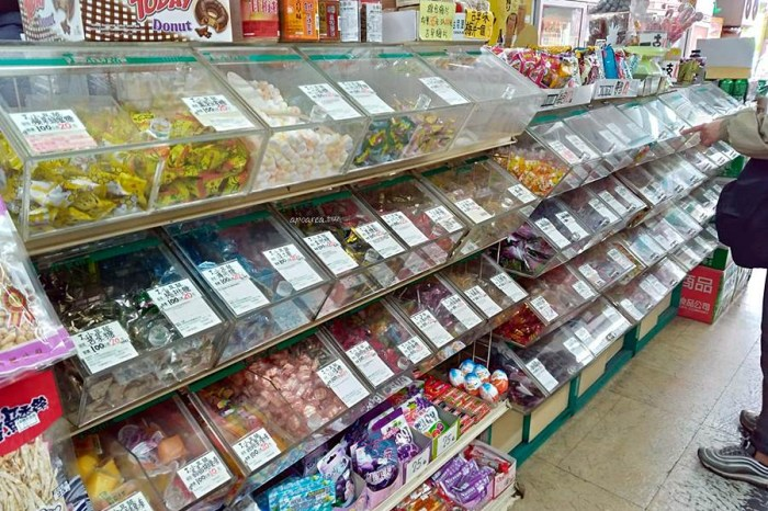 小豆苗 令人懷念的綠豆苗招牌,秤重買零嘴,休閒食品老字號,台中市區僅存門市超商化