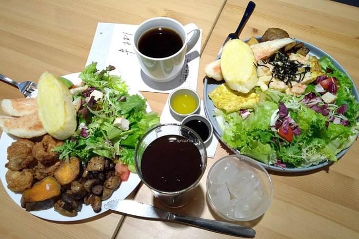 早捌x柳川 中區柳川水岸旁人氣早午餐,生菜份量豐富好吃,有WIFI免服務費,寵物友善餐廳