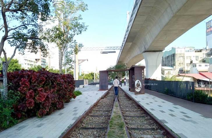 20210130101606 15 - 百年歷史台中車站舊鐵道開放,沿著綠川散步舊城區,新舊鐵軌及吊腳樓意象,台中親子免費景點