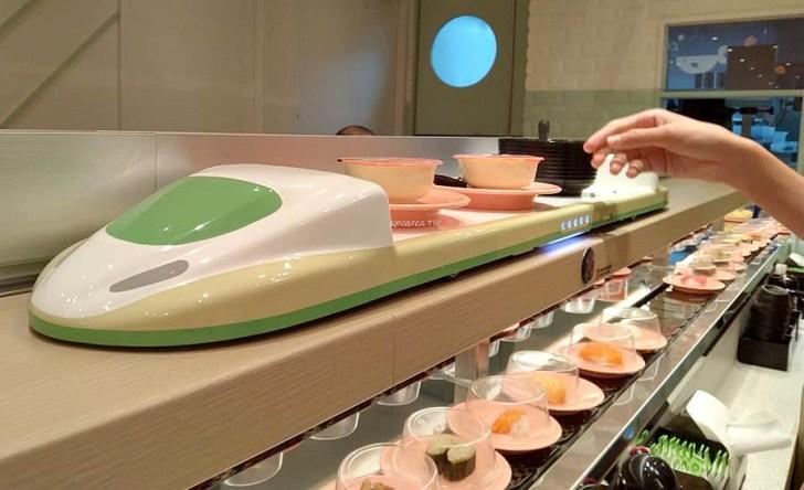 46058210 - 爭鮮全新型態品牌最新門市來囉!線上點餐現點現做,新幹線雙軌送餐服務,SUSHiPLUS愛買水湳店