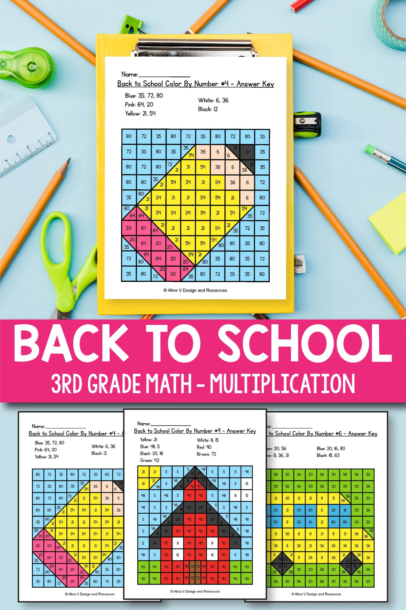 3 Free Math Worksheets First Grade 1 Number Charts