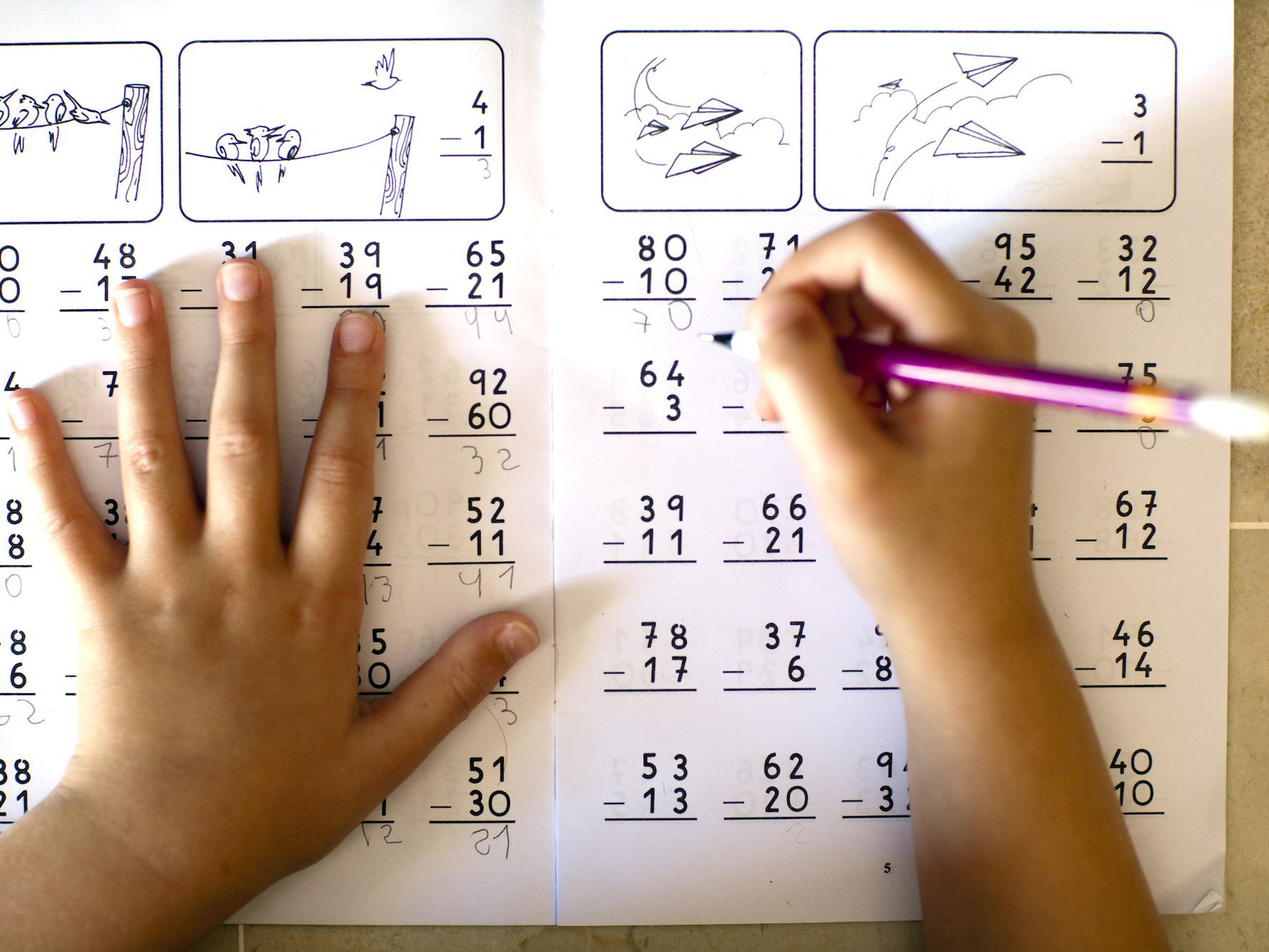 4 Free Math Worksheets Second Grade 2 Addition Add 3 Digit