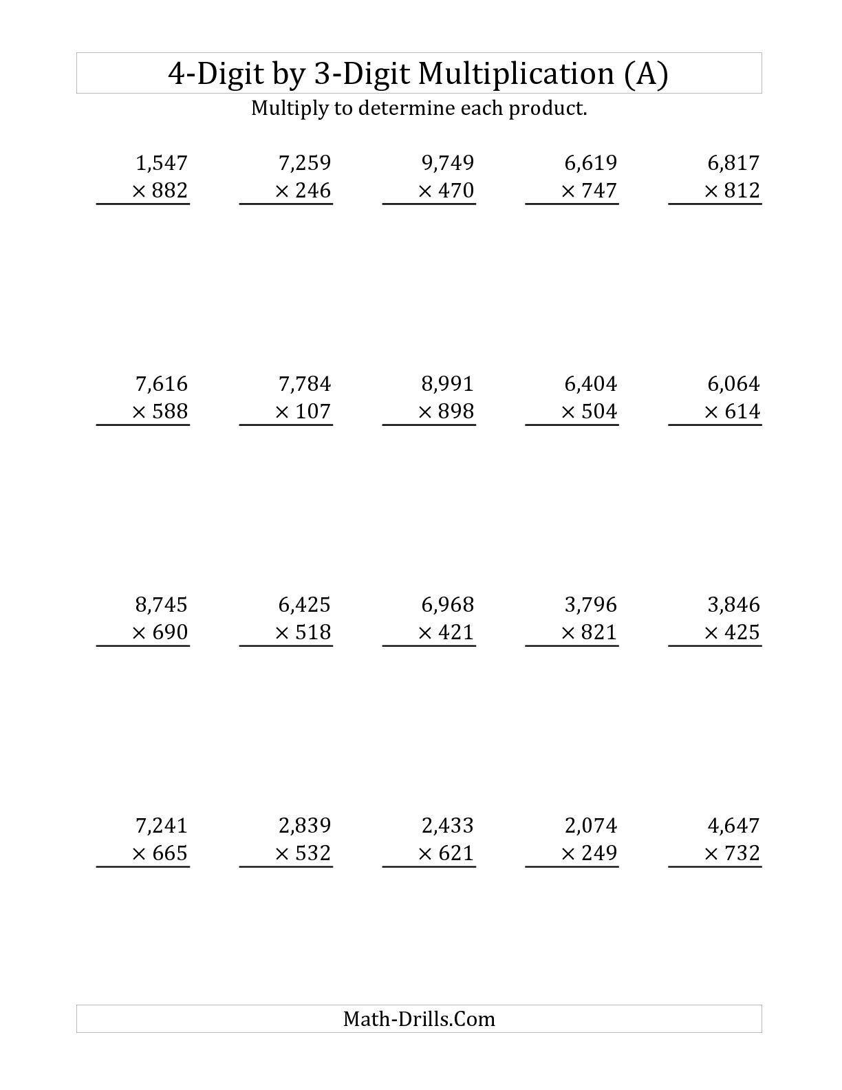 5 Free Math Worksheets Third Grade 3 Addition Add 3 3