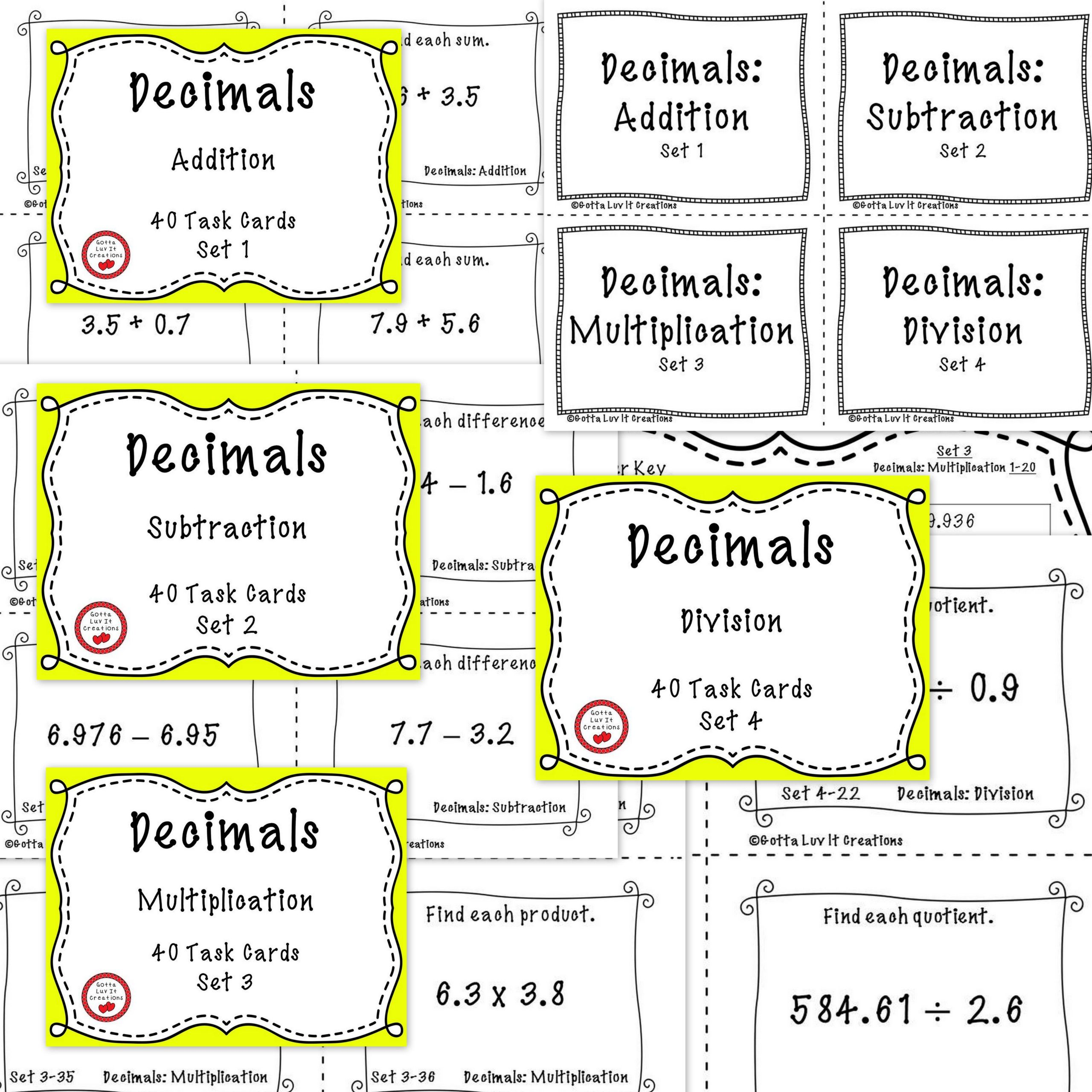 3 Free Math Worksheets Third Grade 3 Fractions And