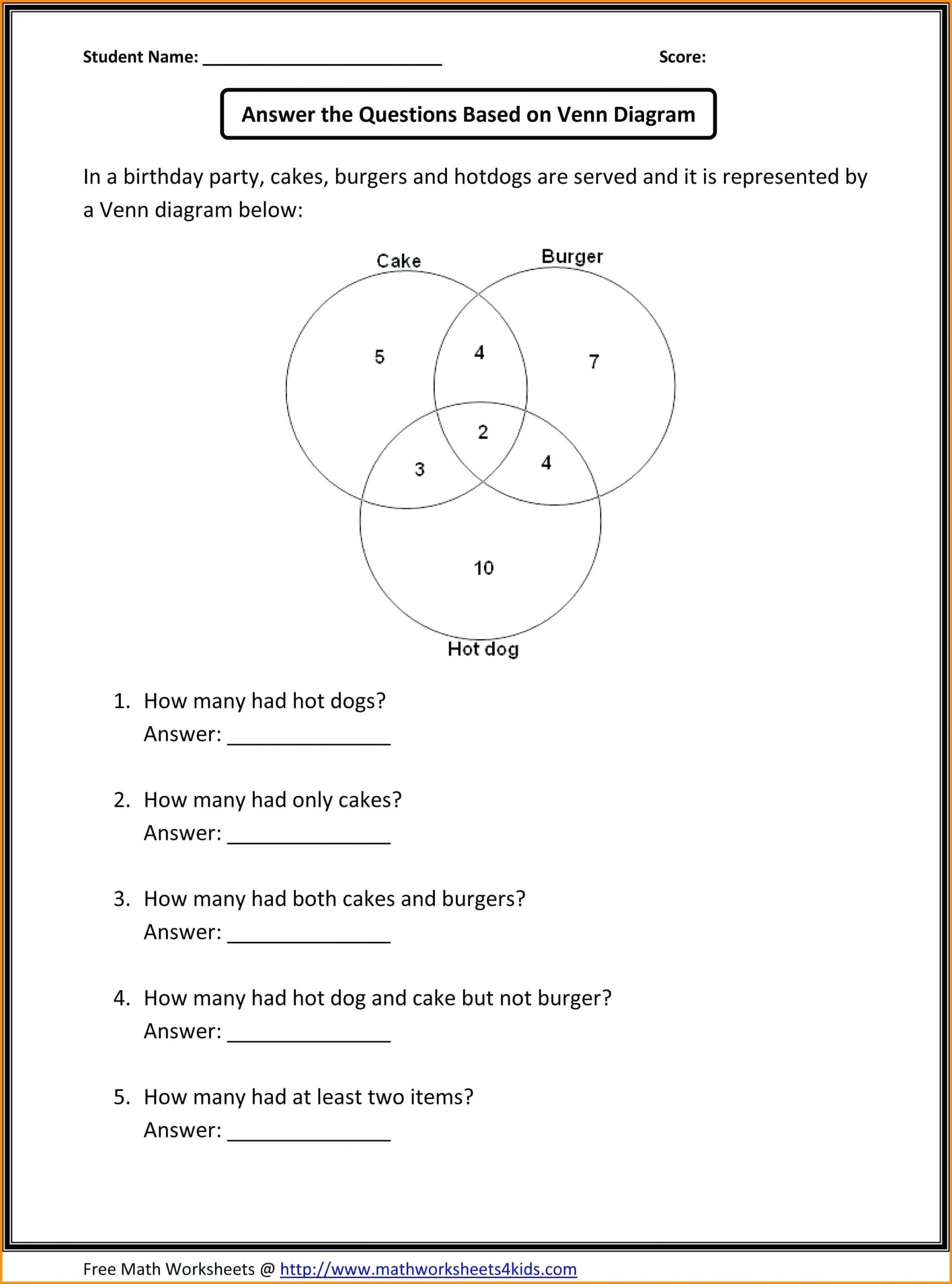 4 Free Math Worksheets Third Grade 3 Subtraction Word