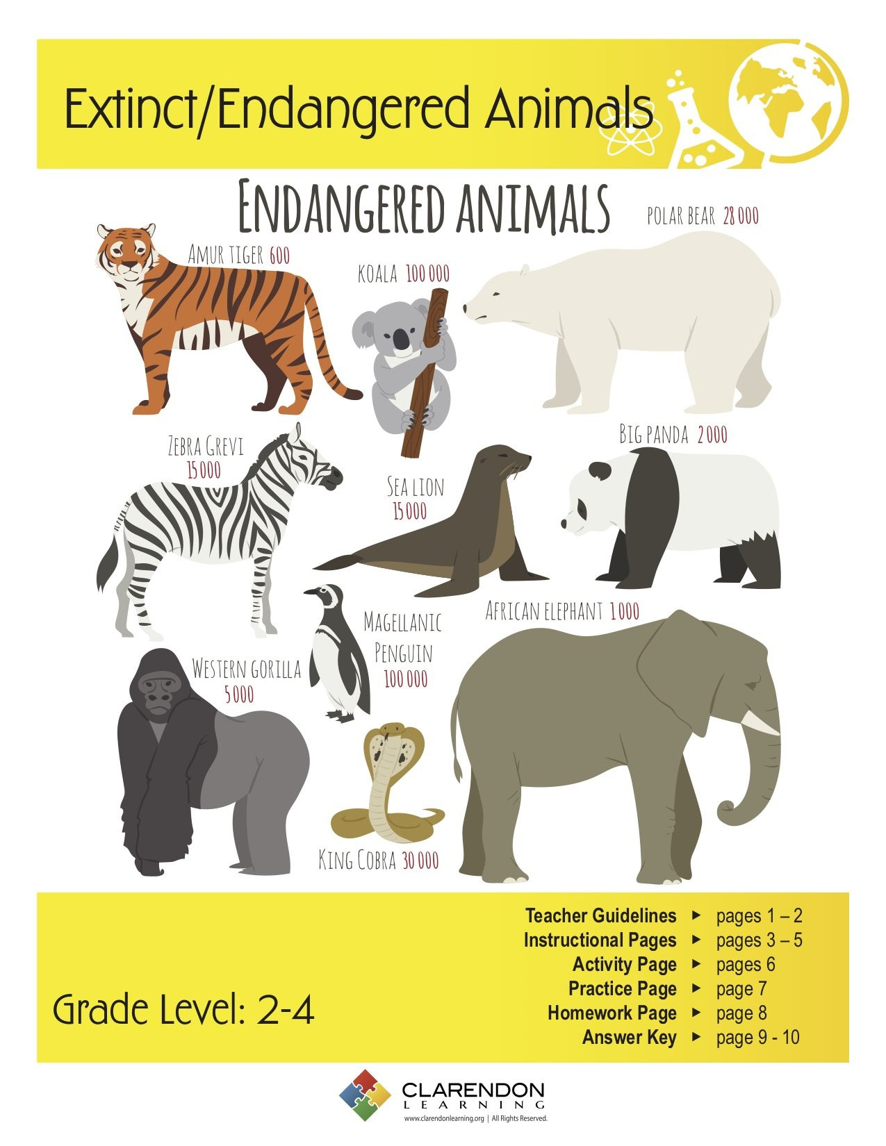 7 Animals Worksheets Student