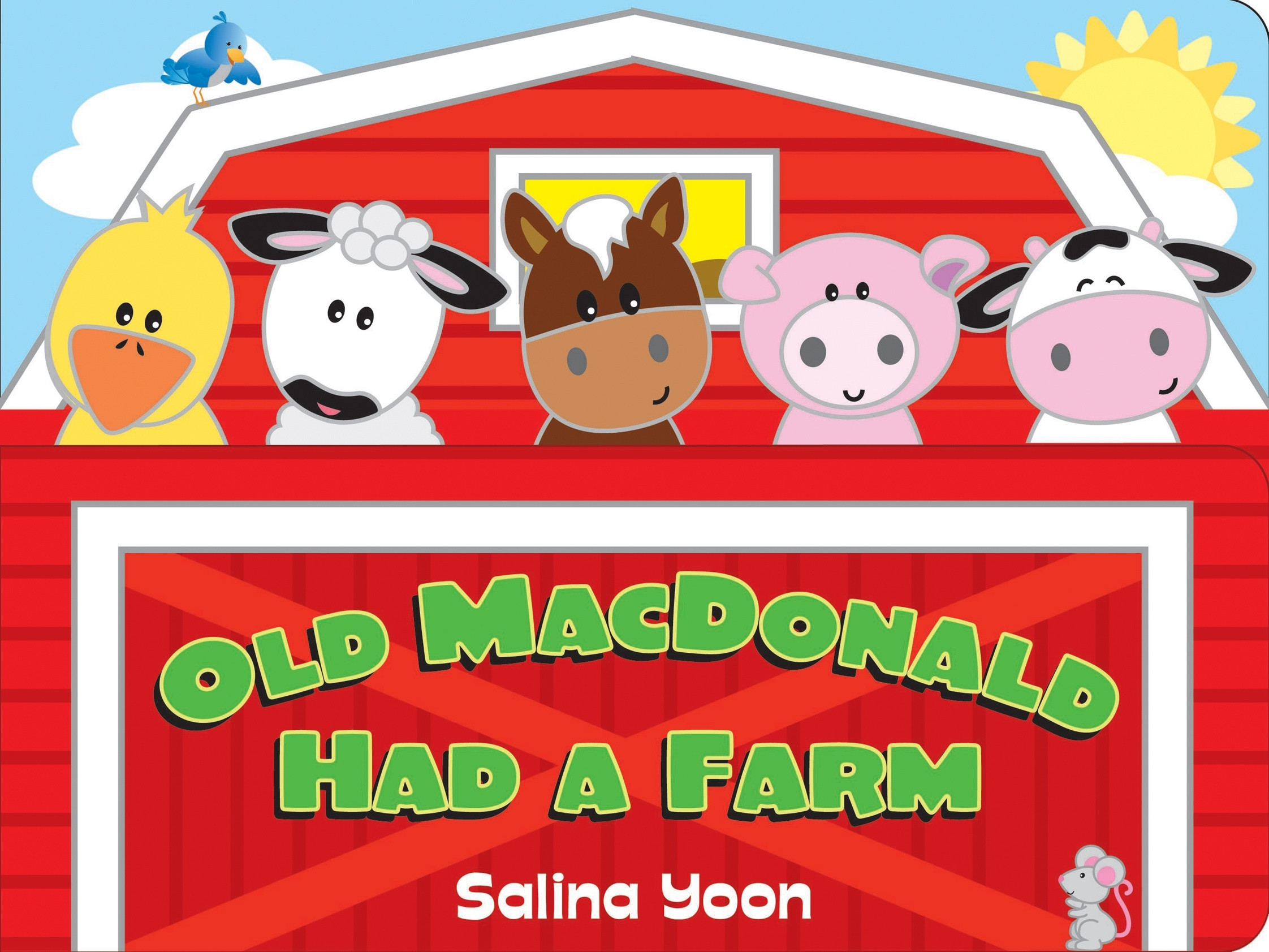 7 Farm Animals Preschool Clipart