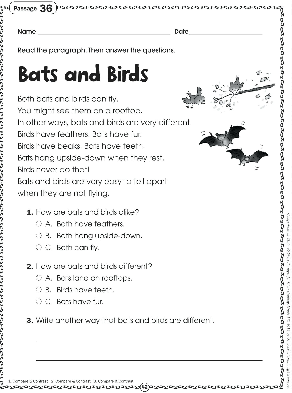 5 Forest Animals Worksheets