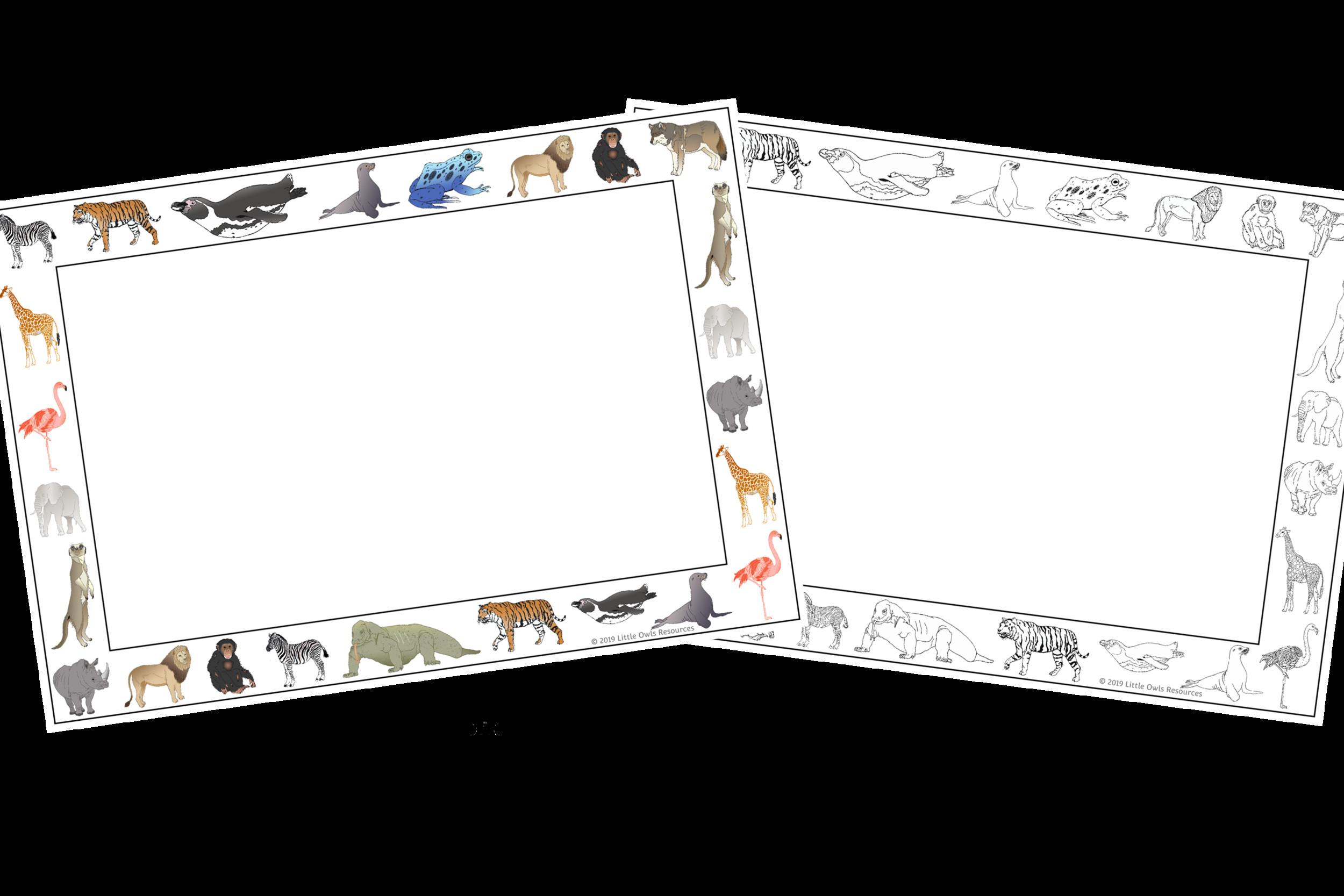 7 Zoo Animals Worksheets For Kindergarten