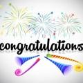 Congratulation(おめでとう)