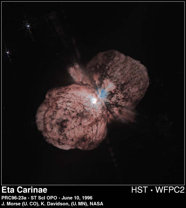 Astronomy Picture of the Day: Star Eta Carinae