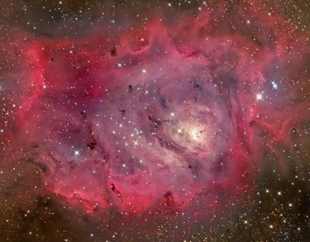 lagoon nebula apod