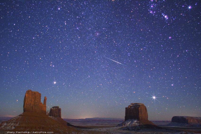 Lluvia de estrellas Gemínidas