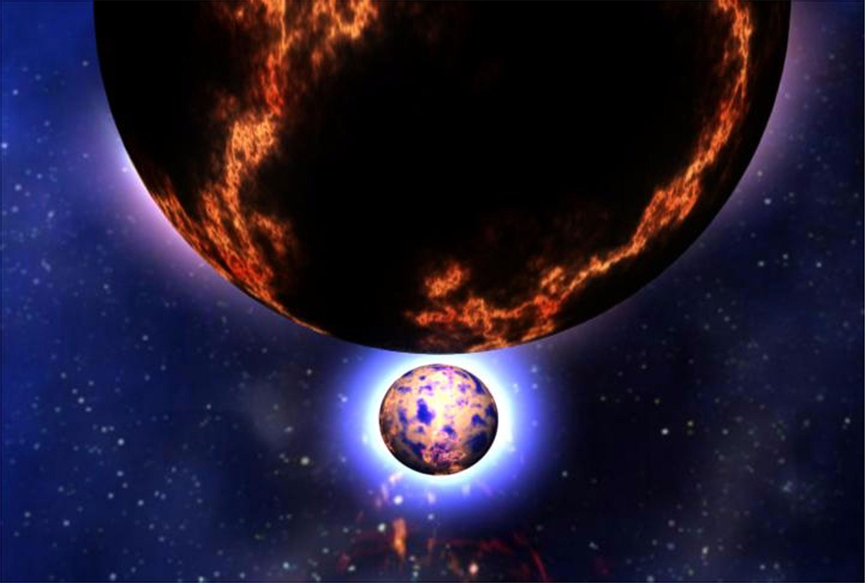 न्यूट्रॉन तारों के टकराव से स्वर्ण निर्माण की संभावना है।