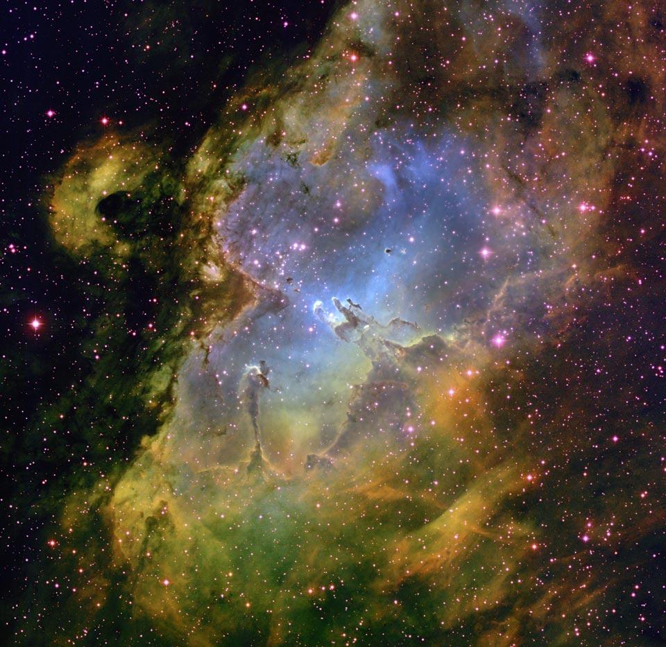 Inside the Eagle Nebula