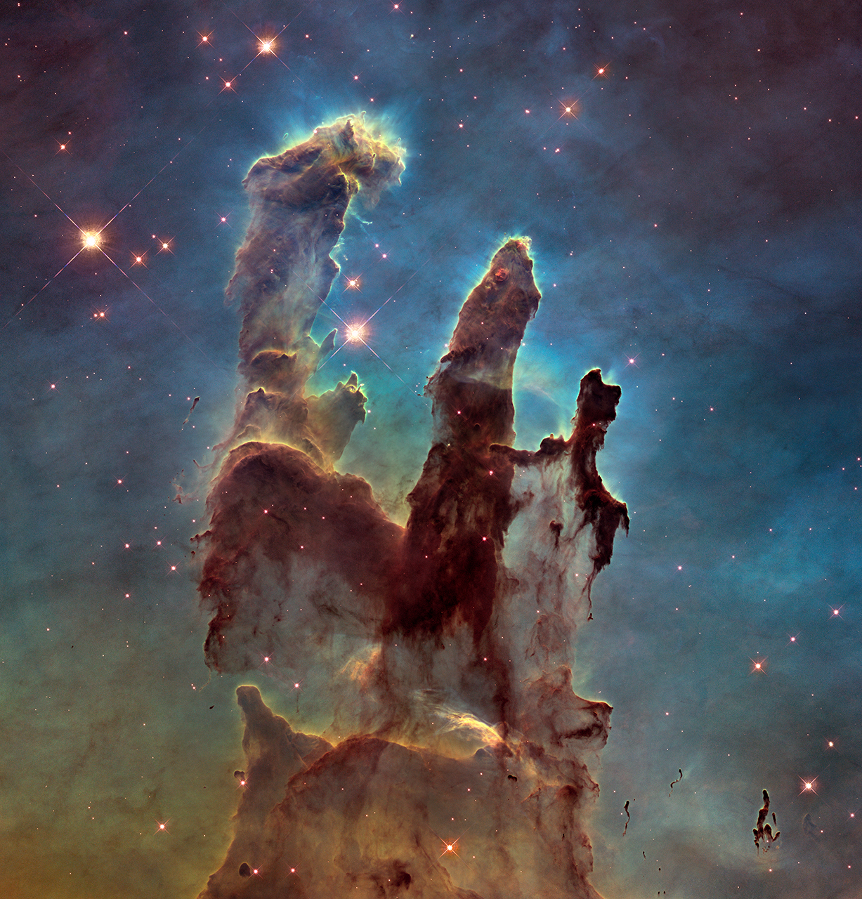 Image result for nasa pillars picture