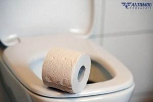 Δείτε γιατί δεν πρέπει να πετάτε το χαρτί τουαλέτας μέσα στη λεκάνη