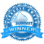 Affiliate Summit Pinnacle Award Winner