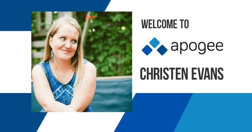 Christen Evans Joins Apogee