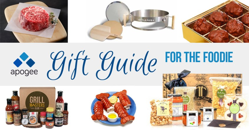 Foodie Gift Guide - 2017 - Holiday Gift Guide from Apogee