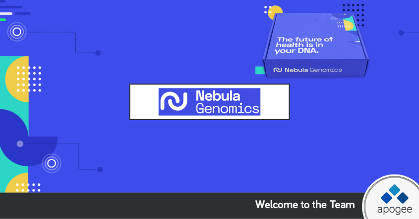 Join Nebula Genomics | Affiliate Program Managed by Apogee