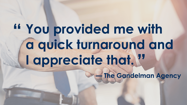 Testimonial - The Gandelman Agency