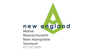 New England Office Graphic Green