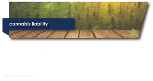 Cannabis Liability banner
