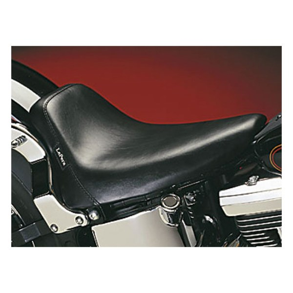 LePera, Bare Bones solo seat. Smooth | 00-07 Softail with up to 150mm tire, frame mounted seat (excl. FXSTD Deuce) (NU)