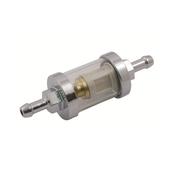 CLEAR-VIEW FUEL FILTER, 1/4 INCH ID  