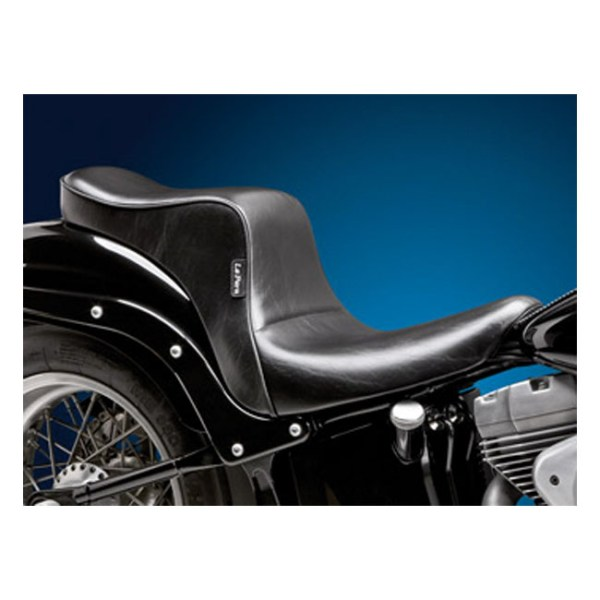 LePera, Cherokee 2-up seat. Smooth. Gel | 06-17 Softail with 200mm rear tire