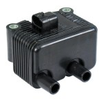 Ignition coil, OEM style single fire. Carbureted | 00-06 Softail; 99-05 Dyna; 02-06 FLT; 04-06 XL. (Single fire, carbureted) (NU)