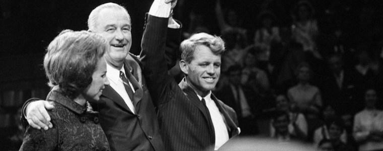 5 juni 1968 Robert Kennedy vermoord..