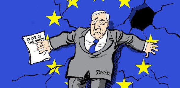"Juncker Lies Again? ""EU Won't Meddle In Italy's Affairs"""