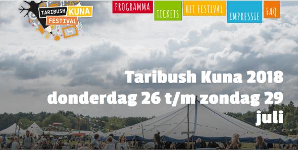 Taribush Kuna festival eind juli – De Lange Mars Plus