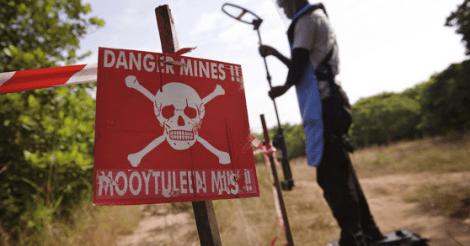 Aantal nieuwe landmijnslachtoffers stijgt voor 3e opeenvolgende jaar