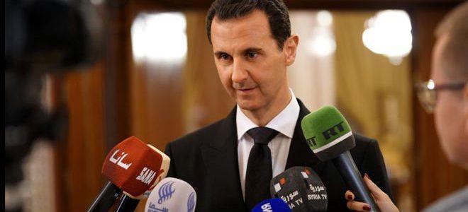 President al-Assad: de oorlog tegen het terrorisme zal pas eindigen als de laatste terrorist in Syrië is uitgeschakeld – FREESURIYAH