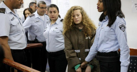 Ahed Tamimi ontmaskert het bezettingsregime van Israël