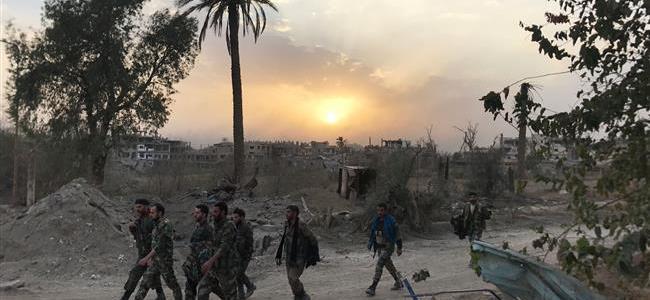 Syrische leger vindt weer NATO/US wapens en nu ook chemische wapens – FREESURIYAH