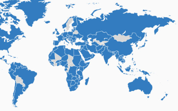 US Empire Goals? Only 22 Countries Have Never Been Invaded By ...
