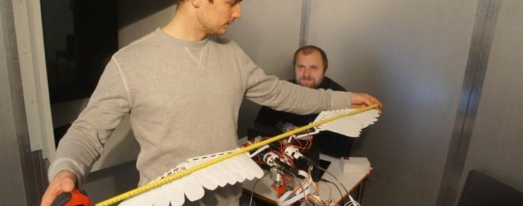 An Icelandic inventor has developed a bird-like drone that could revolutionize surveillance