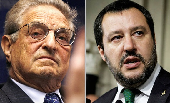 """War Erupts Between Italy's Government And Soros: """"You Profited From The Death Of Hundreds Of People"""""""