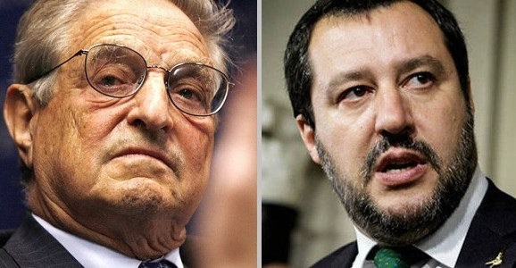 "War Erupts Between Italy's Government And Soros: ""You Profited From The Death Of Hundreds Of People"""