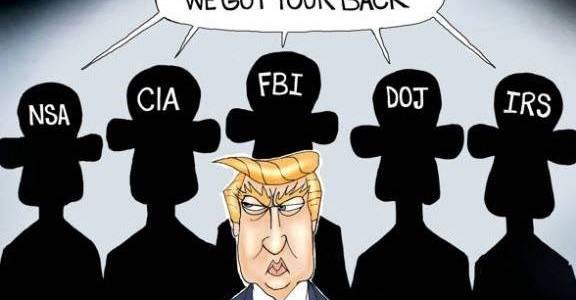 How Presidents Are Broken in by the Deep State