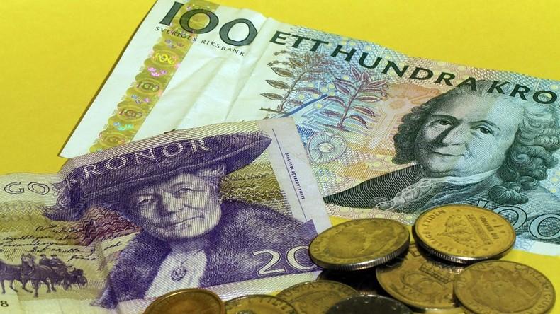"""""""Keine Barzahlungen"""": Bargeld stirbt in Schweden langsam aus, viele Läden akzeptieren nur noch Karte"""