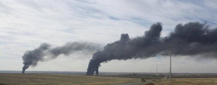 """""""Verbrannte Erde""""? Syrien wirft USA vor, Ölfelder vorsätzlich beschossen zu haben"""