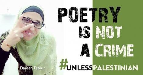 Israël gooit Palestijnse dichteres Dareen Tatour 5 maanden achter de tralies