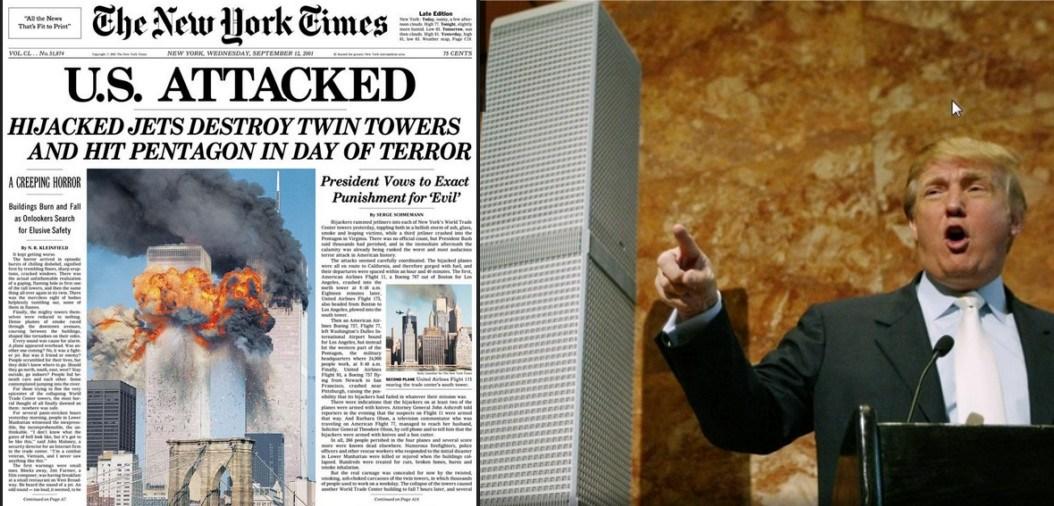 Zwaar 9/11-memo aan Trump: onderzoek 911..!!