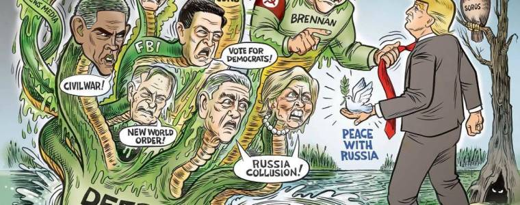 Trump Finally Strikes Back at RussiaHoax Swamp, Brennan's Security Clearance Revoked, FBI's Strzok Fired