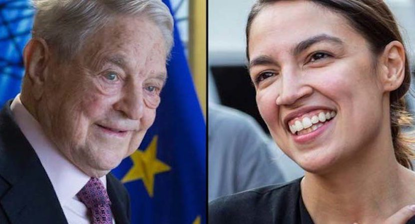 Details Of Ocasio-Cortez's Ties To George Soros Revealed